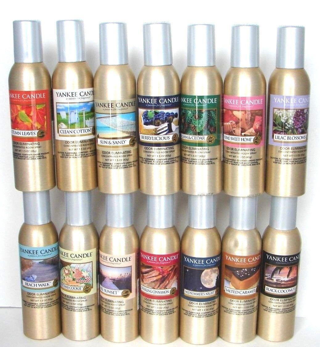 Yankee Candle Home Fragrance Room Spray You Choose x 1~~Odor