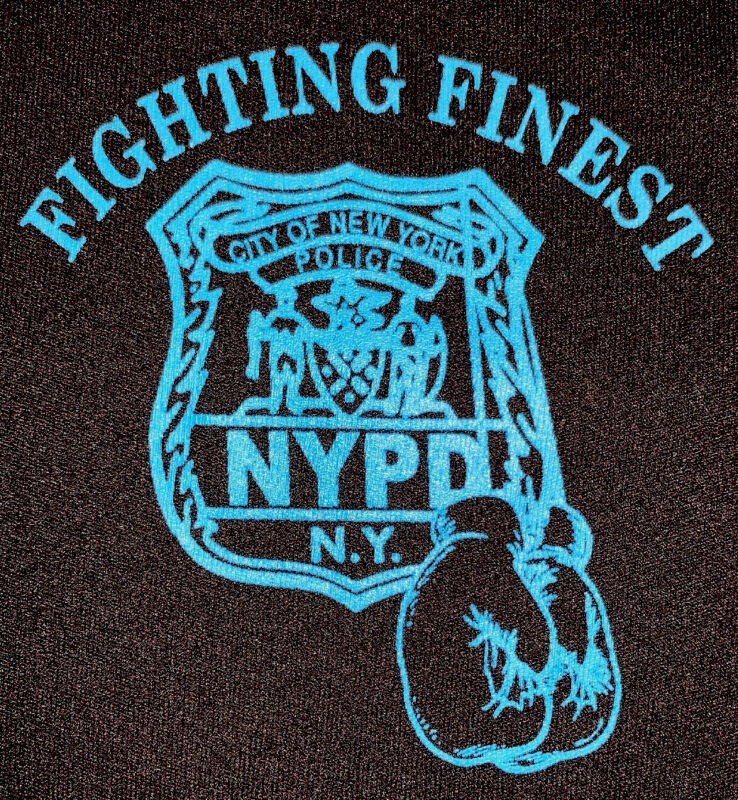 NYPD New York City Police Department NYC T-Shirt Sz M Finest Boxing New