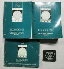 1998 FORD ECONOLINE SERVICE SHOP REPAIR MANUALS ...