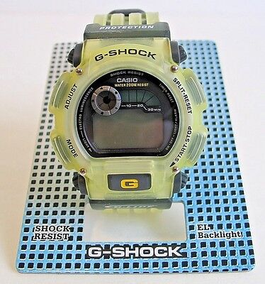 Used, Vintage 1997 Casio G-Shock G-Lide DW-9000S-9VT 1627 Wristwatch Watch NOS NIB NWT for sale  Shipping to Canada