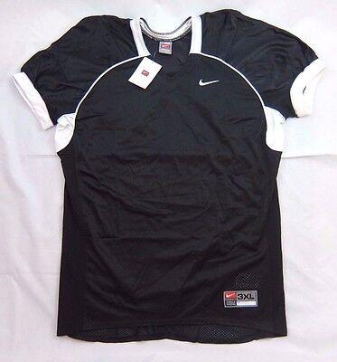 New Men's Nike Team Black Football Lacrosse Training Practice Jersey 3XL NWT $60