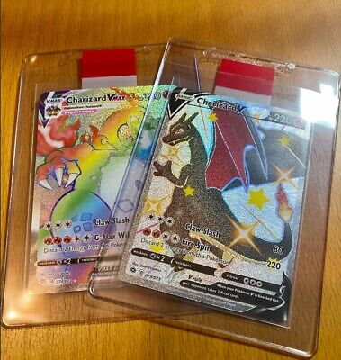 Charizard Vmax 74/73 & Shiny Charizard V 79/73 MYSTERY GOD PACK Pokemon MINT✨