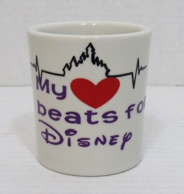 Vintage My Heart Beats for Disney Thick Heavy Diner Style Mug