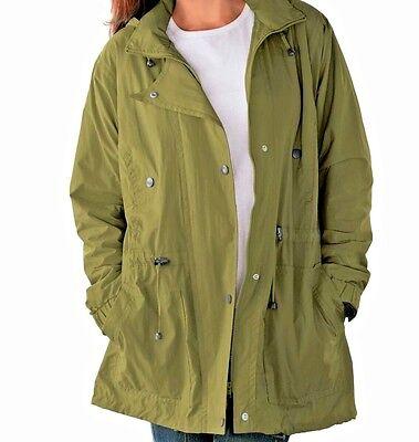 Womens Money Avocado Green Lined Coat Jacket Sizes 1x, 2x, 3x, 4x, 6x