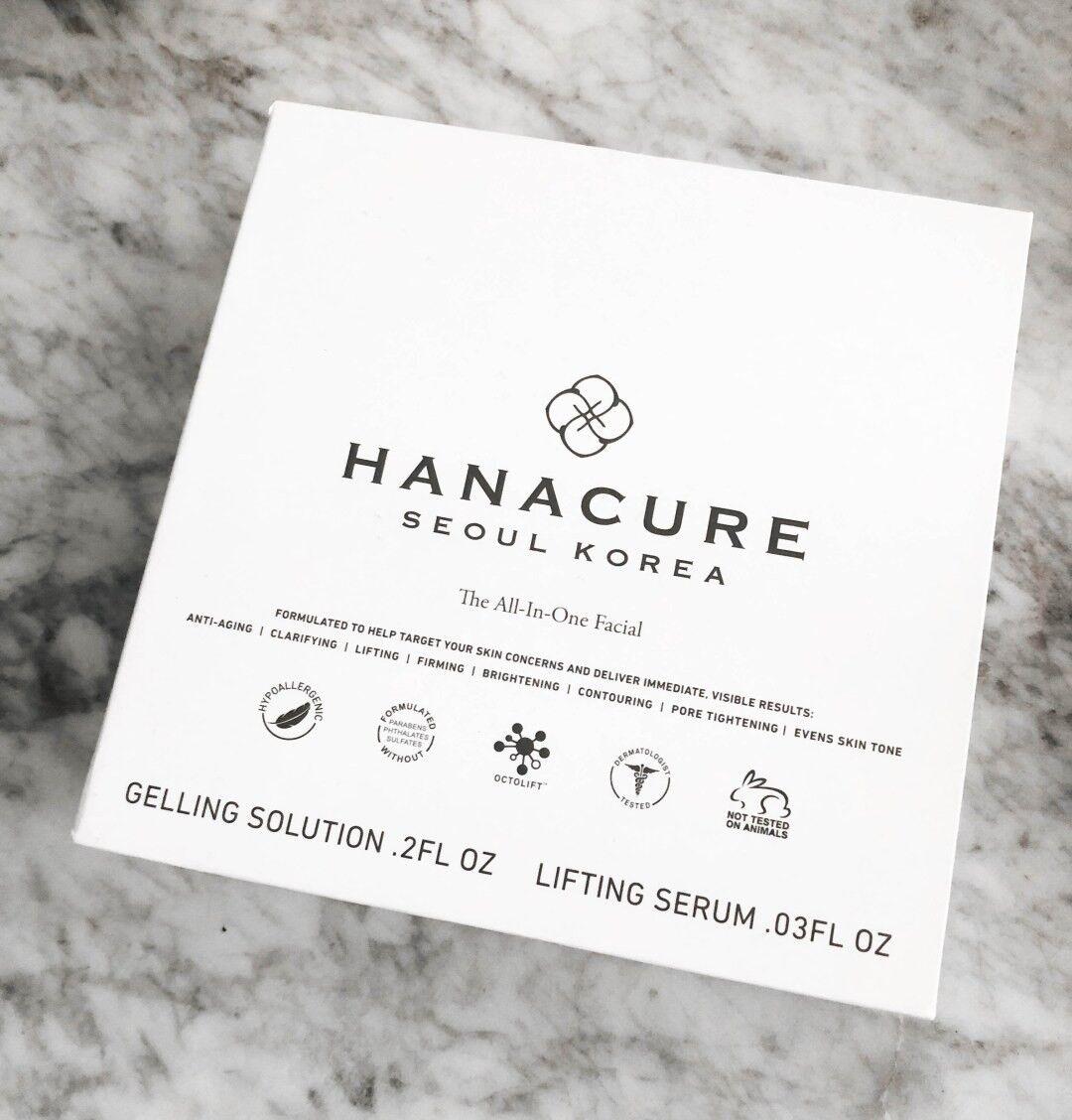 HANACURE Mask All in 1 Starter Kit Facial NIB~exp 2022~OVER
