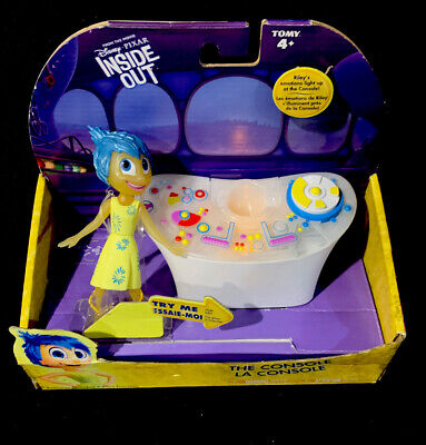 Inside Out Control Console for Riley emotions with JOY figure TOMY Disney Pixar