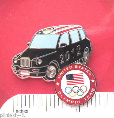 MINI COOPER type car OLYMPIC USA - Hat pin,  lapel pin , tie tac , hatpin
