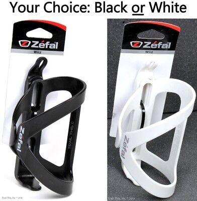 Side Water - Zefal Wiiz Side-Entry Reversible Road/MTB Bike Water Bottle Cage Black or White