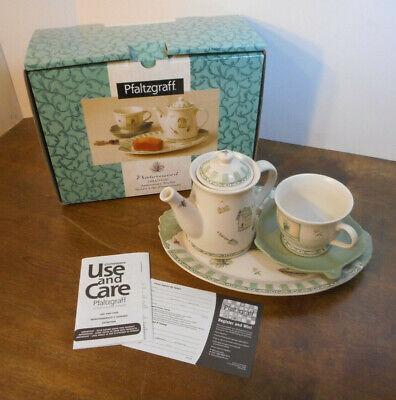 Pfaltzgraff Naturewood Stoneware 2006 Anniversary Tea Set 339-C33-00 NEW IN BOX