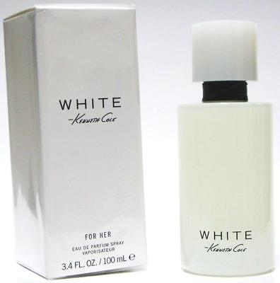WHITE Kenneth Cole women perfume edp 3.4 oz 3.3 NEW IN BOX - Kenneth Cole White Perfume