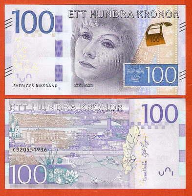 P71a  Sweden / Schweden  100 Kronor   2015   UNC neu