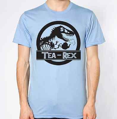 T Rex Dinasour Top Jurassic Park Abstract Design Art New T-Shirt Tea Coffee Joke