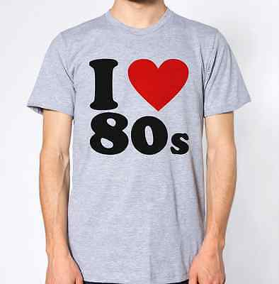 I Love the 80's Top Eighties Music Retro Novelty T-Shirt