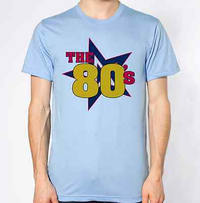 I Love the 80's Top Eighties Music Retro Novelty T-Shirt Pop