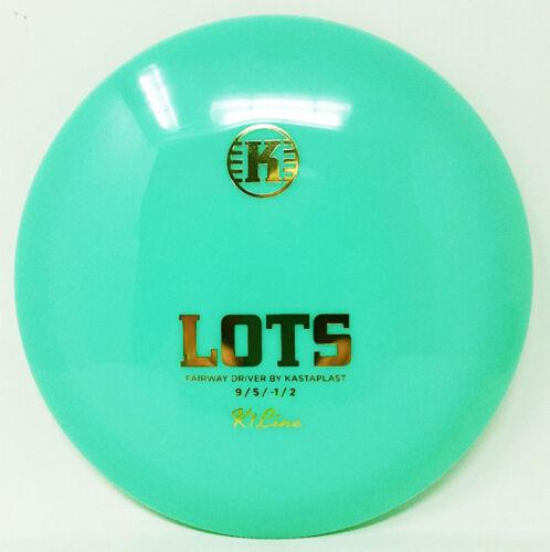 Lots K1 First Run Mint Green 176g Max NEW Kastaplast Prime Disc Golf Very Rare