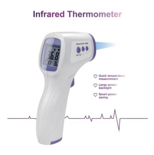 Medical NON-CONTACT Body Forehead KRK Infrared Laser Digital Thermometer