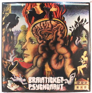BRAINTICKET: Psychonaut (rock & pop vinyl LP) reissue