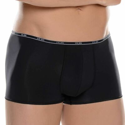 New No Tag HOM Temptation Plume II Comfort Boxer Trunks in Black size M