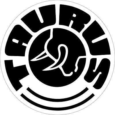 Taurus Gun Logo Vinyl Sticker Decal  **FREE SHIPPING**