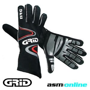 Go Kart Gloves - NRG Inside Out with Silicone Palm