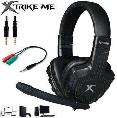 Cascos auriculares con micrófono gaming para Ps4 Nintendo Switch XBOX-One PC