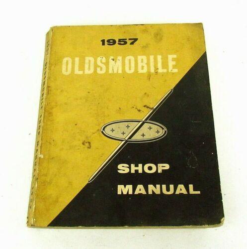 Original 1957 Oldsmobile Shop Manual