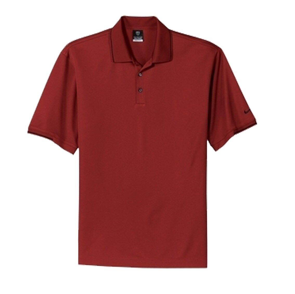 fad6dce1 NIKE GOLF Mens Size S L XL 3XL 4XL Dri-Fit Polo Sport Shirts with Tipped  Trip