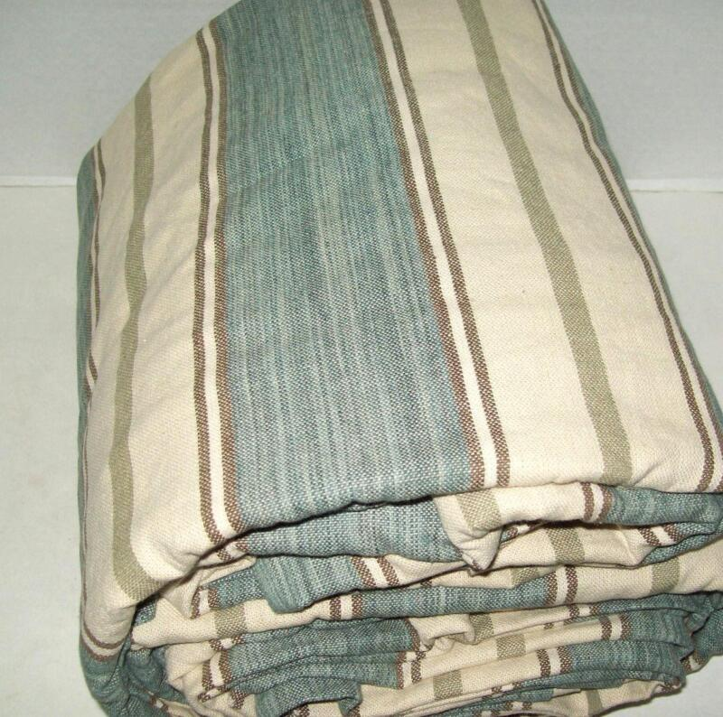 Pottery Barn Blue Stripe Duvet Ebay