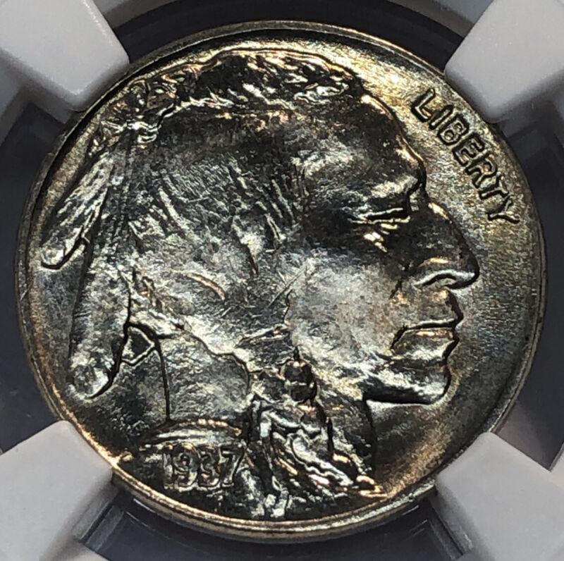 1937 Buffalo Nickel NGC MS 66