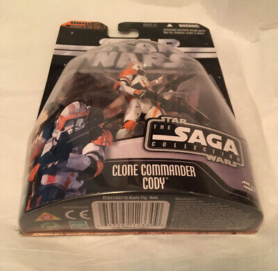 Star Wars Saga Clone Trooper Commander Cody #24 Brand New