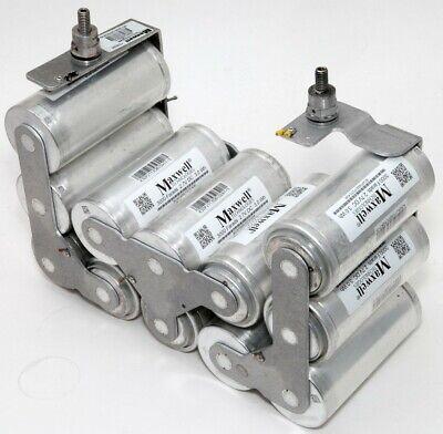 12x Maxwell Bcap3000 P270 Ultra Capacitors 3000 Farads 2.7v Dc Welded Together