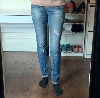 Alloy Apparel distressed Vanilla Star Jeans Size 11 Inseam 36