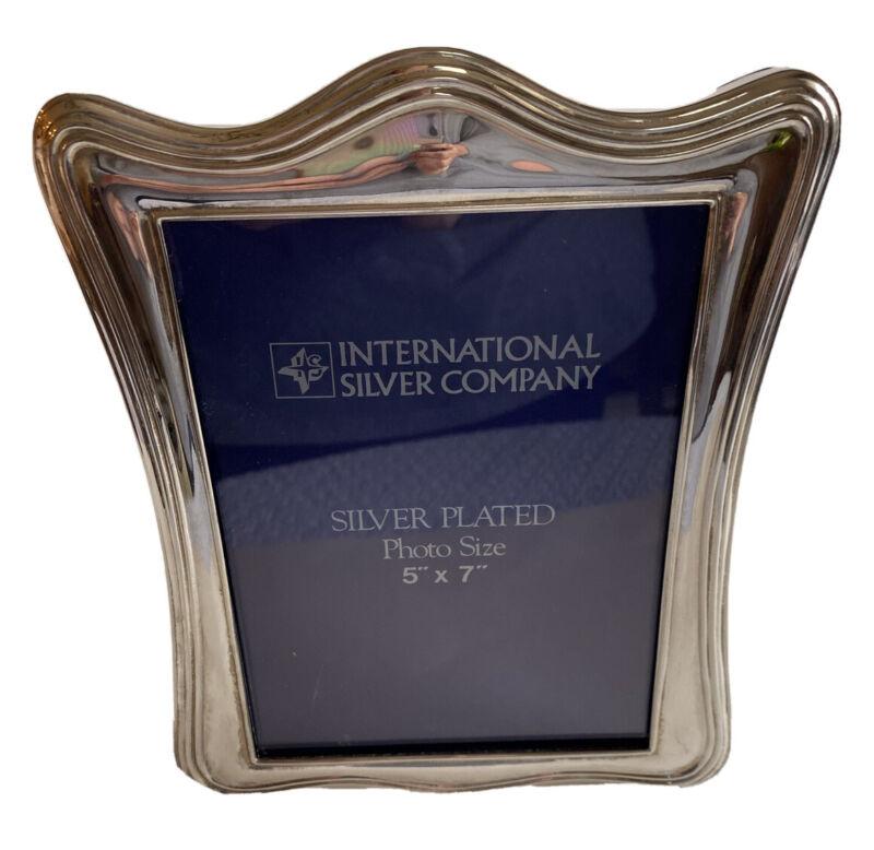 "International Silver Co Silver plate Frame 5""X7"""