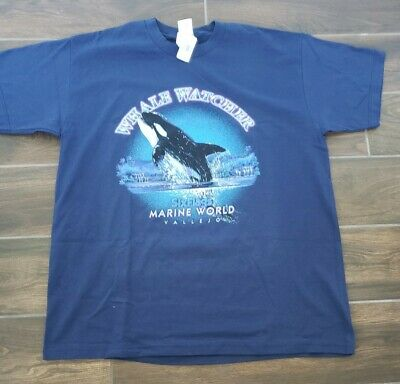 Six Flags Whale Watchers T Shirt X-Large B-2