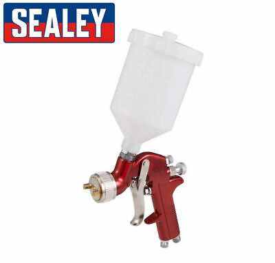 1.4 mm Spray Gun Gravity Feed Compressor Air Fed 600 cc ml Pot 2K Basecoat PAINT