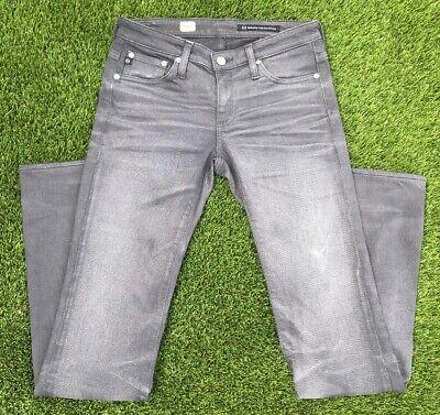 "Adriano Goldschmied AG Jeans Angel Size 26R Grey Denim Bootcut 32"" Inseam Adriano Goldschmied Angel Jeans"