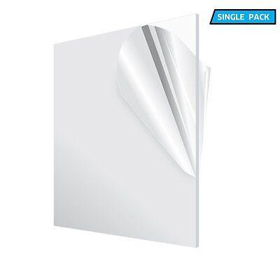 Adiroffice Clear 12 X 12 X 18 Diy Weatherproof Plexiglass Acrylic Sheet
