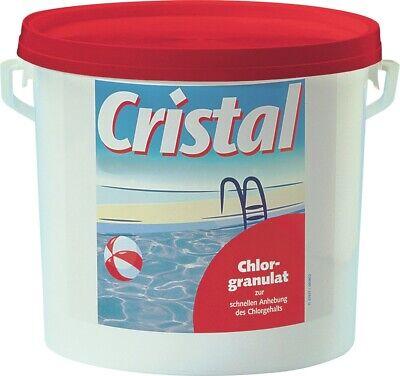 Cristal Cloro Granulado 5kg Cloro Piscina Badewasser Limpieza Granulado Cuidado