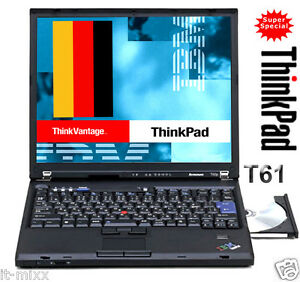 IBM levono ThinkPad T61 Core2 Duo 2,2mhz 2048mb 160GB 14,1 zoll 1400x1050