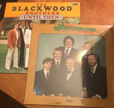 2 ALBUMS THE BLACKWOOD BROTHERS SKYLITE HIS AMAING LOVE UNTIL THEN - GOSPEL