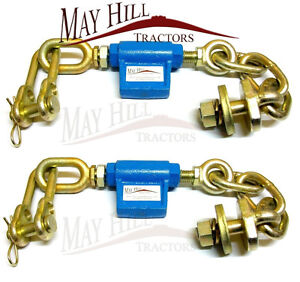 Ford 5000 - 8210 Tractor Stabiliser Check Chain Assembly (PAIR) - #3122 x 2
