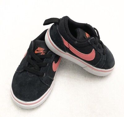 905372 003 black//white Toddler Size Free Shipping TD Nike SB Check CNVS