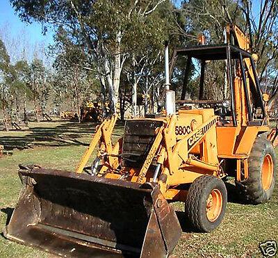 Case 580c 580 C Backhoe Loader Repair Manuals Service Manual Ck Tractors Fast Cd
