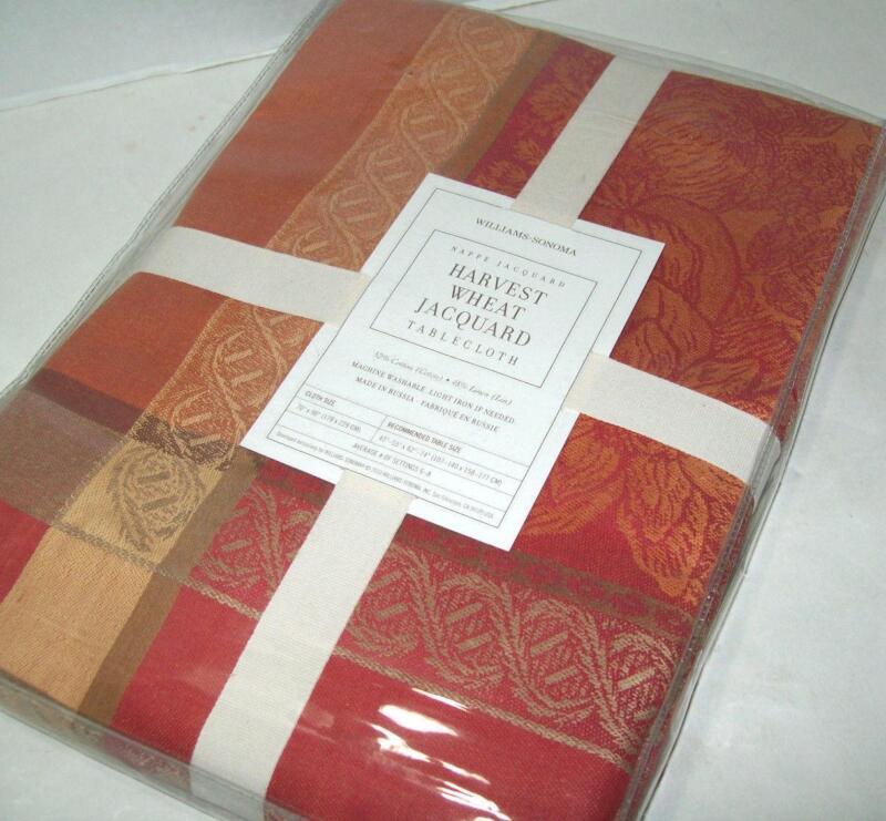 Williams Sonoma Jacquard Tablecloth Ebay