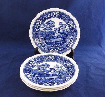 Spode TOWER BLUE Salad Plates - Set of 4