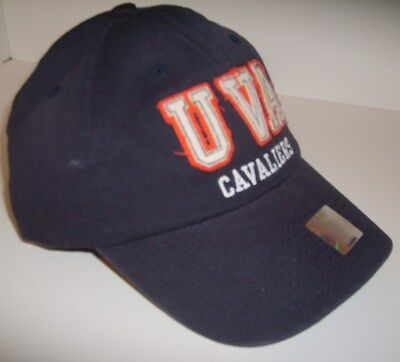 Virginia Cavaliers, Ball Cap, Unisex, Adjustable Navy Blue, Distressed, - Virginia Cavaliers Ball