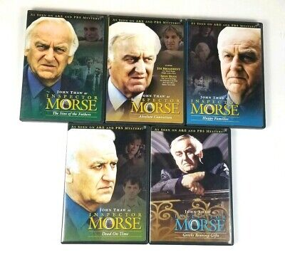 Inspector Morse Greeks Bearing Gifts Sins of The Fathers Dead on Time Lot of (Inspector Morse The Sins Of The Fathers)
