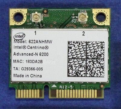 1X Intel Advanced N 6200 Model 622ANHMW WLAN-Modul, Mini- PCIe 5 GHz 300Mbit/s