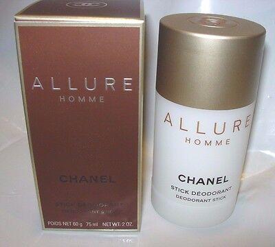 MENS NEW CHANEL ALLURE HOMME SCENTED Deodorant Stick SOLID 2 OZ CRISP CLEAN - Allure Deodorant Stick