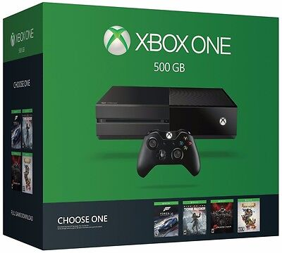 New Xbox One 500GB Console Name Your Game Bundle Video Games